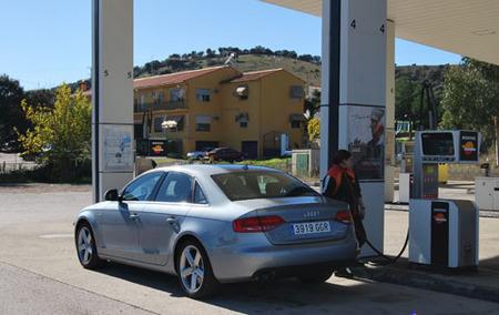 Audi A4 en Repsol