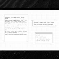 Manifest: toma notas dentro de un tablero minimalista y retro en una pestaña de tu navegador