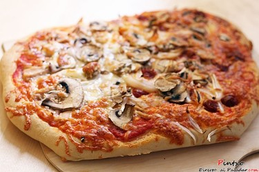 Pizza masa pan de chapata