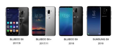 Bluboo S8, S9 Plus y S9