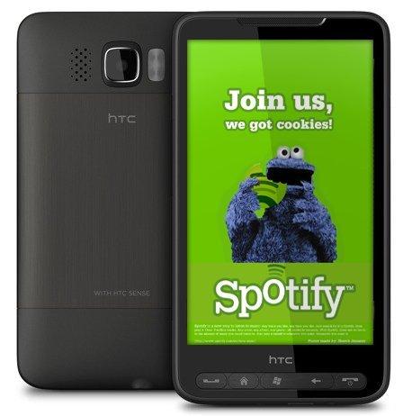 Spotify llegará pronto a Windows Mobile