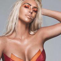Kim Kardashian se pone al rojo vivo con su nueva colección de maquillaje