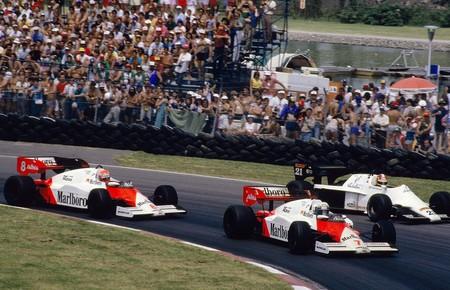 Prost Lauda Canada F1 1984