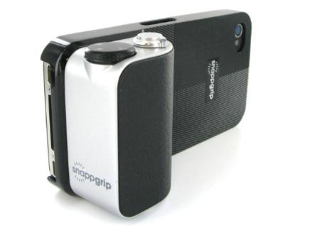 Snapgrip, accesorio fotográfico para nuestro iPhone que quizas no necesitemos
