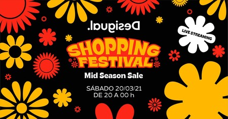 Este sábado, planazo primaveral: Shopping Festival de Desigual (con premios, música, descuentos y hasta Cristina Pedroche)