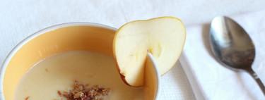 Receta de vichyssoise de manzana