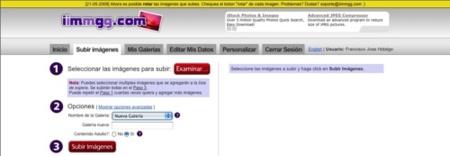 Iimmgg, alojamiento gratuito de imágenes con opción a ser editadas