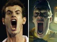 Parecidos razonables: Andy Murray y... un zombie