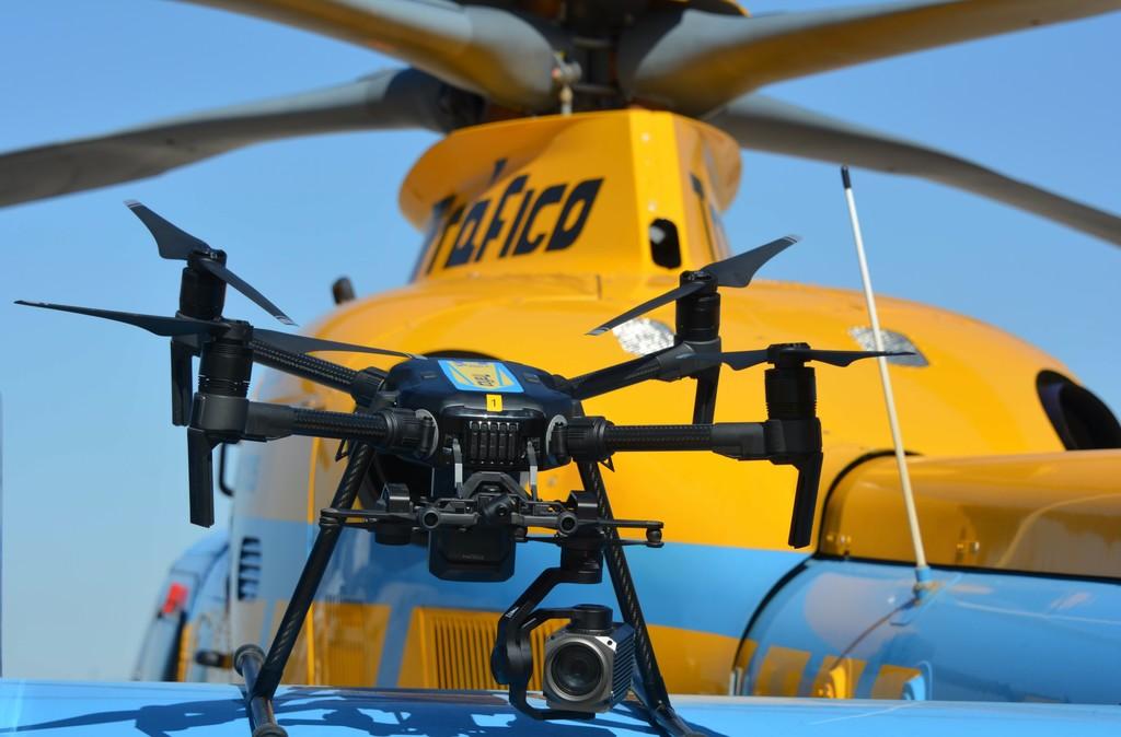 La DGT utilizará drones para denunciar infracciones en carretera a partir del 1 de agosto
