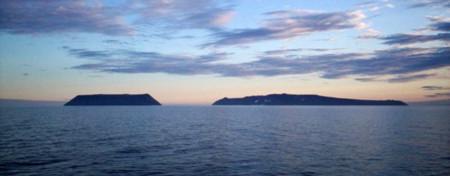 Si quieres ver el futuro tienes que viajar a la isla de Diómedes Menor