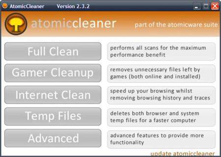 Atomic Cleaner, el limpiador atómico que no lo es tanto