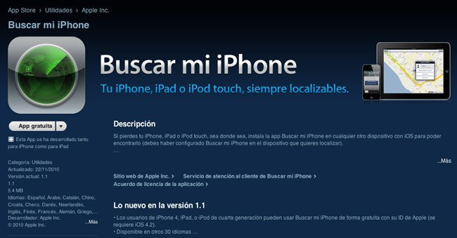 Buscar mi iPhone Find my iPhone Apple