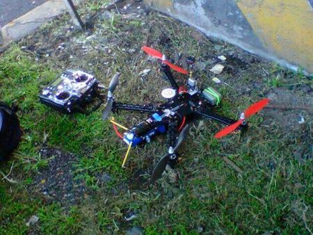 Drone Utilizado por la Policia en México
