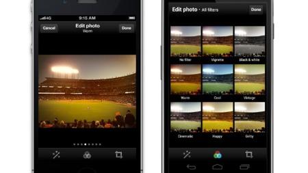 Twitter cumple lo prometido y añade los filtros de imagen a su aplicación móvil
