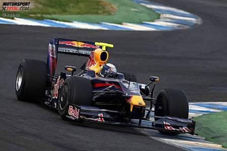 Sebastian Vettel manda el primer día en Jerez