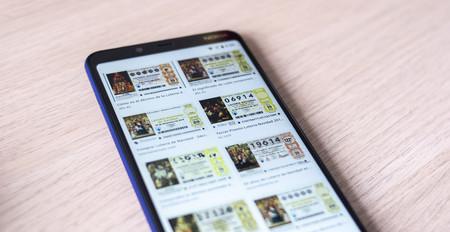 Cómo comprobar los décimos de lotería premiados del Sorteo de Navidad 2018 desde el móvil