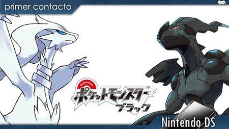 'Pokémon Negro' y 'Pokémon Blanco'. Primer contacto