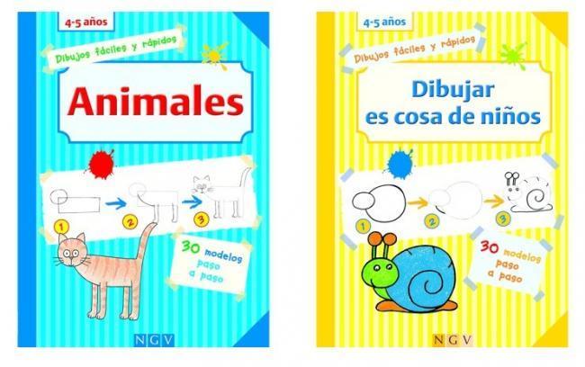 Dibujos Paso A Paso Unos Libros Que Retan A Los Pequenos Artistas