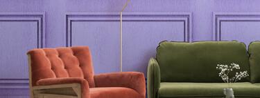 """Papeles pintados de Hovia para imitar el estilo del apartamento de Mónica en """"Friends"""" en 2021"""