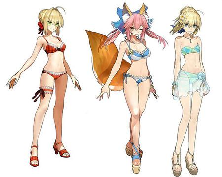 ¡Qué viva el fanservice! Fate/Extella lanza vídeo de su DLC de trajes de baño