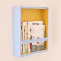 ¿Te animas? Cómo hacer tu propio cajón estantería DIY para tus revistas y libros favoritos