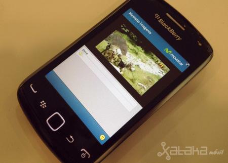 Movistar lanza el servicio Imagenio en Blackberry