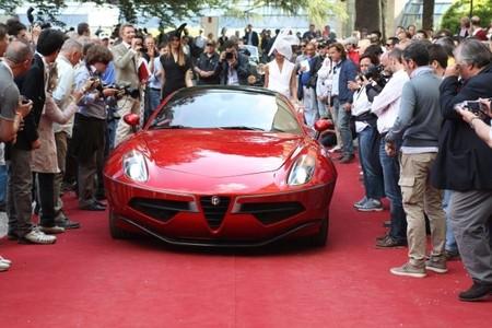 Alfa Romeo Disco Volante Certamen de Elegancia de Villa d