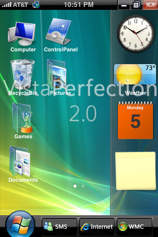 Vista Perfection 2.0 para iPhone