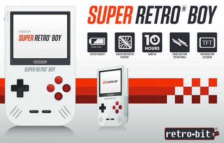 Conozcan la Super Retro Boy , la Game Boy que muchos desearán tener