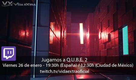 Streaming de Q.U.B.E. 2 a las 19:30h (las 12:30h en CDMX) [finalizado]