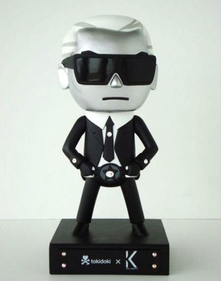 Karl Lagerfeld versión toy de Tokidoki