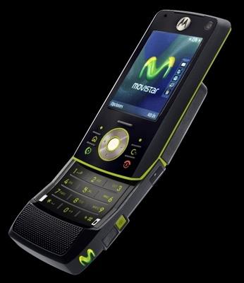 Motorola Z8 con Movistar