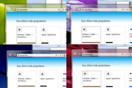 Aura hace que las ventanas de Windows cambien de color según el fondo de pantalla