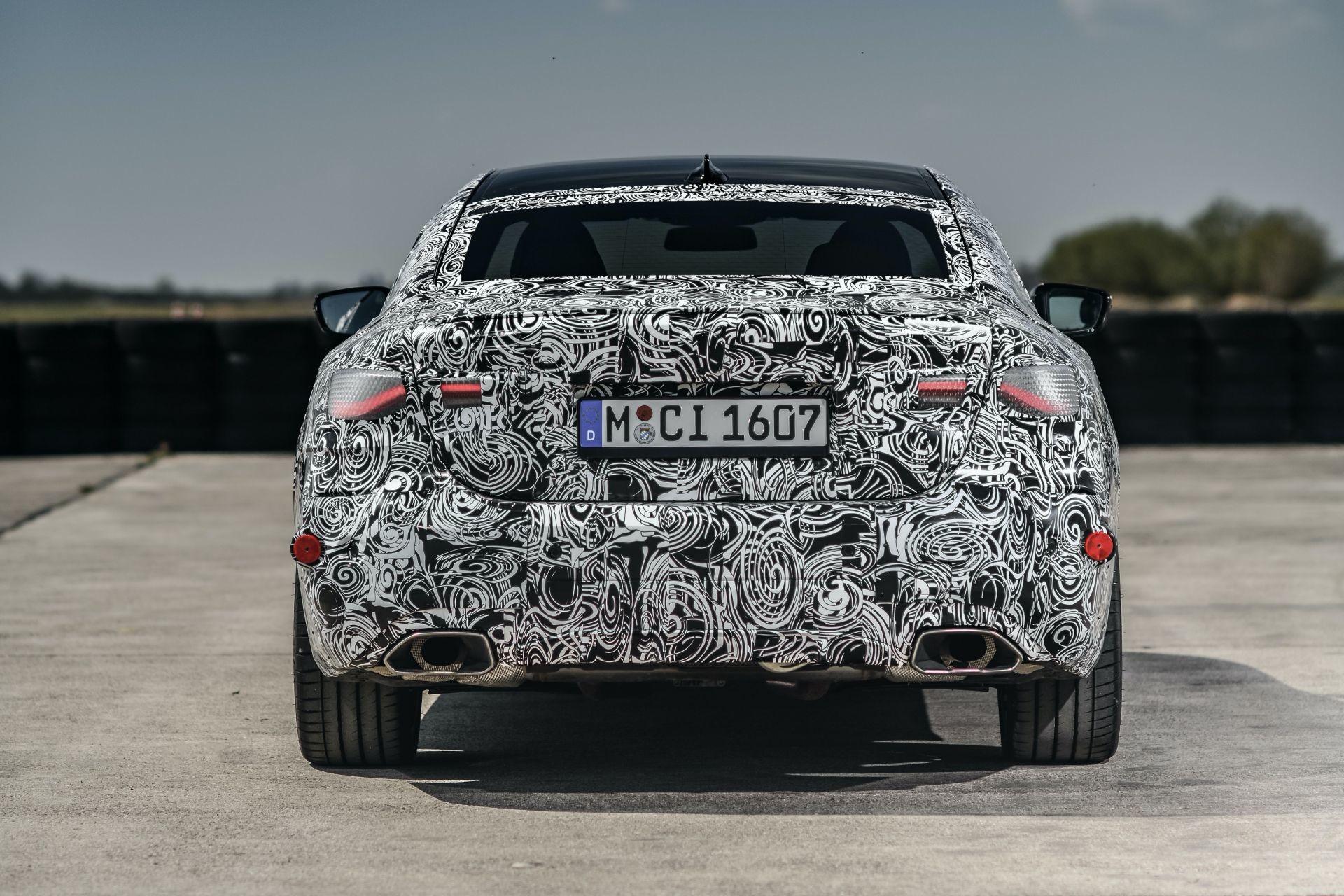 Foto de BMW Serie 4 2021 (fotos espía) (34/38)