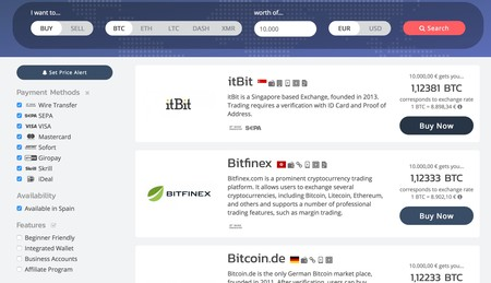 Window Y Cryptoradar Cryptocurrency Price Comparison Tool