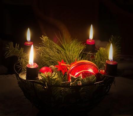Cuidado con las velas