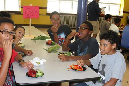 La fibra soluble que contienen frutas y verduras podría ejercer una acción preventiva sobre el asma en niños