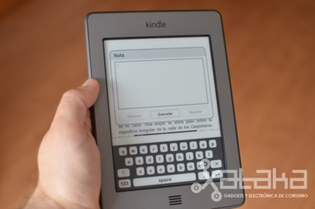 Kindle Touch análisis