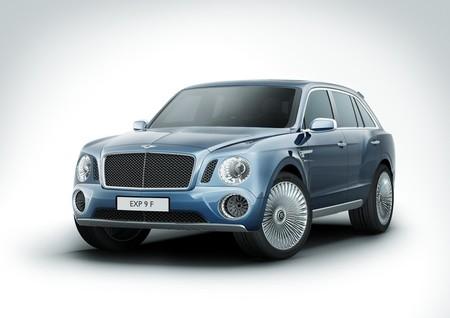 Bentley EXP 9 F, aquí está su prototipo de SUV