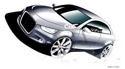Audi A1: los bocetos oficiales