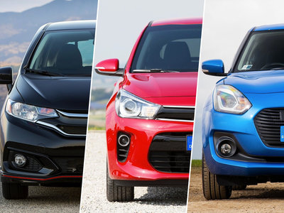 ¿Cuál me llevo? Honda Fit vs. KIA Rio vs. Suzuki Swift