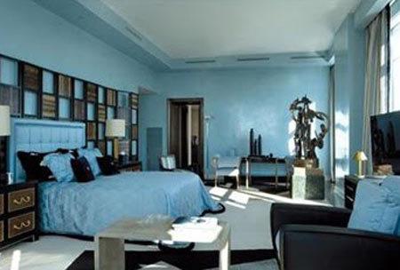 El dormitorio de Briatore.