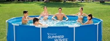 Piscinas low cost de ALDI, ideales para disfrutar del verano a lo grande en tu terraza o jardín (y por muy poco dinero)