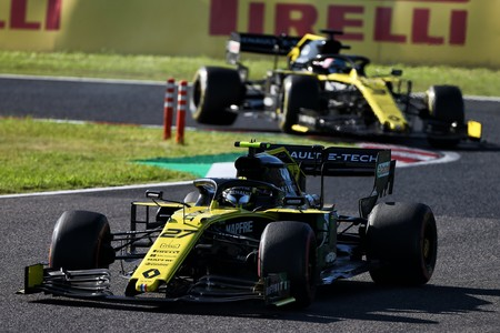 Hulkenberg Ricciardo Japon F1 2019
