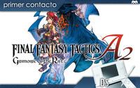 'Final Fantasy Tactics A2: Grimoire of the Rift', primer contacto
