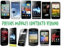 Comparativa precios de móviles más destacados para la campaña de verano 2012