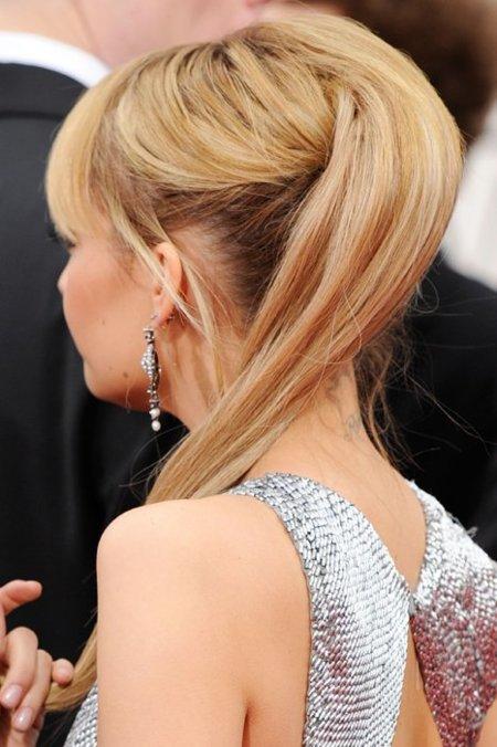 Nicole Richie Globos de Oro 2012
