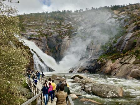 Ézaro, una espectacular cascada sobre el Atlántico