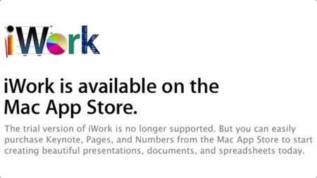 Apple elimina las versiones de prueba de iWork y Aperture