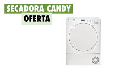 La secadora más vendida de Amazon tiene NFC, entrega gratuita y hoy, además, está rebajada: llévate una Candy CS C8LF-S por 232,89 euros